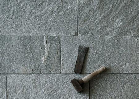 Тротуарная плитка из греческого сланца Кавала